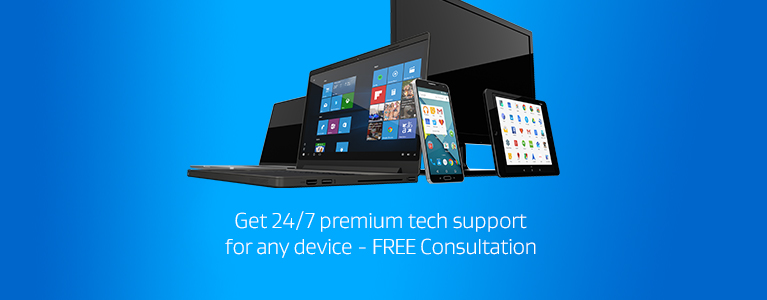 Get 24/7 premium tech support for any device - FREE Consultation